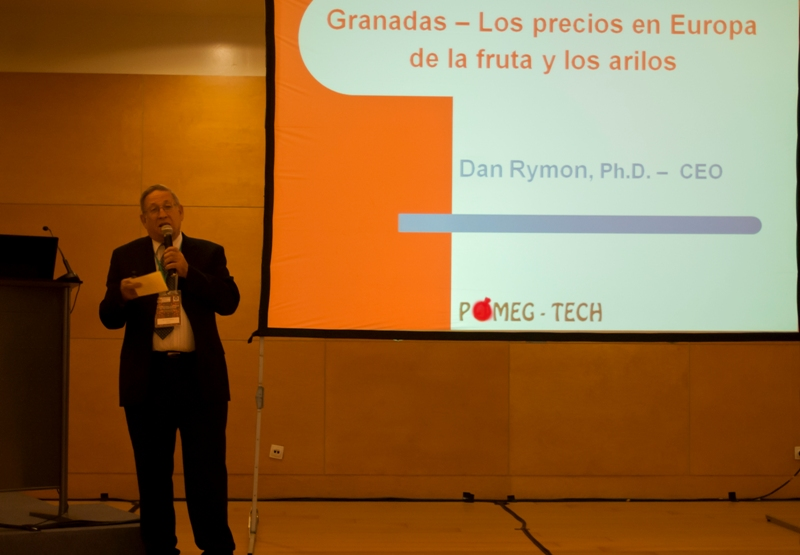 Dr. D. Rymon of Pomeg-Tech